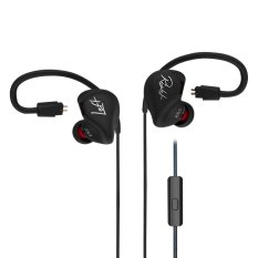 For Sale Kz Zs3 Hifi Stereo Metal In Ear Wired Earphone Black With Mic Intl