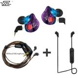 Top 10 Kz Zst Hybrid Earphone Bluetooth Wire Dynamic Drive Hi Fi Bass Earphones For Sport Music Smart Phones Intl