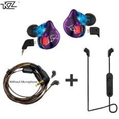 Buy Kz Zst Hybrid Earphone Bluetooth Wire Dynamic Drive Hi Fi Bass Earphones For Sport Music Smart Phones Intl Online