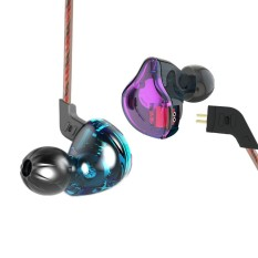 Retail Price Kz Zst Wired Cable Detachable Noise Canceling In Ear Earphones(Without On Cord Control) Intl