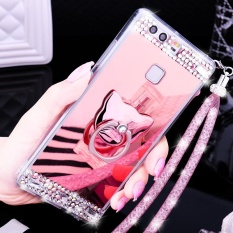 Lady Phone Case Mirror Phone Casing Mobile Phone Cover For Huawei Mate 9 Intl For Sale