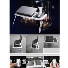 Coupon Laptop Desk Portable Table Bed Sofa Folding Adjustable Width Stand Tray Intl