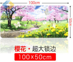 New Large No Mouse Pad Cf Electric Competition Game Lol Anime Cartoon Computer Office Keyboard Pad Catcher Desktop