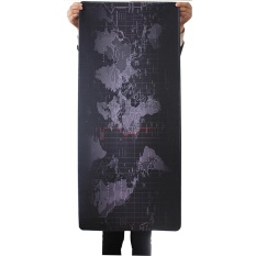 Large Size 900x400x3mm World Map Speed Extended Gaming Mouse Mat Pad Laptop - intl