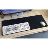 Large Size Mousepad 80Cm X 30Cm Black Singapore