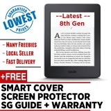 Sale Latest 2017 Amazon Kindle 8Th Gen Screen Protector Smart Wake Leather Cover Sg Tutorial Guide Warranty Kindle On Singapore