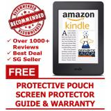Geekbite Amazon Kindle 8Th Gen Black Kindle Premium Pouch Screen Protector Wifi Special Offers Singapore