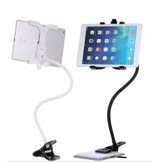 Price Comparisons For Lazy Clip Holder For Phone Tablet Universal Phone Clip Holder Bracket Flexible Long Strong Arm Black