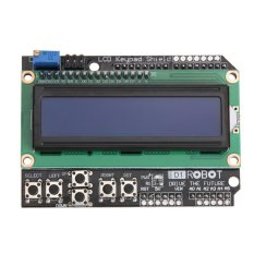 Lcd 1602 Display Keypad Shield Module For Arduino Expansion Board - Intl By Crystalawaking.