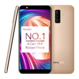 Leagoo M9 Quad Cam 18 9 Full Screen Mobile Phone Fingerprint 5 5 Inch Android 7 2Gb 16Gb In Stock