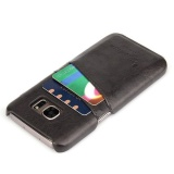 Price Leather Back Card Slot Case Cover For Samsung Galaxy S7 Gray Intl China
