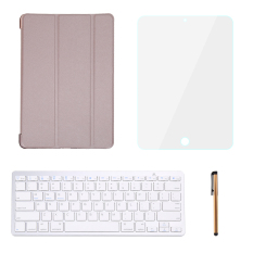 Discounted Leather Case Smart Cover With Bluetooth Keyboard For Ipad Pro 9 7 Intl