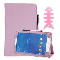 Leather Case Stand Cover For Samsung Galaxy Tab 3 7Inch Tablet SM-T110 PK -