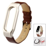 Who Sells Leather Strap For Xiaomi Miband 2 Brown The Cheapest