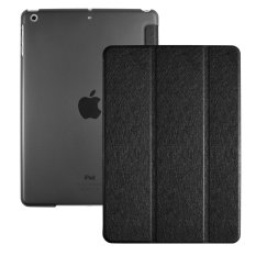 Compare Price Leather Ultra Slim Trifold Stand Case Cover With Auto Wake Sleep Function For Ipad Air Ipad 5Th Generation Black Intl Oem On China