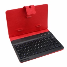 Leather With Detachable Bluetooth Keyboard For 5-7Inch IOS, Android Phone RD Singapore