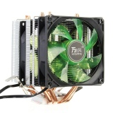 Where Can I Buy Led 4 Heat Pipe Quiet Cpu Cooler Heatsink Dual Fan Radiator For Lga 1155 775 Amd Green Intl