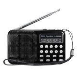 Who Sells Led Digital Am Fm Radio Voice Recorder Speaker Usb Tf Mp3 Player Led Flashlight Black Intl