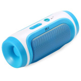 Best Deal Leegoal Mini Portable Bluetooth Wireless Stereo Speaker For Tablet Smartphone Blue Intl
