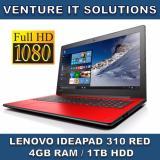 Discount Lenovo Ideapad 310 14Ikb I5 7200U 4Gb 1Tb Gt920Mx 14 Fhd Dvdrw Win10 Red