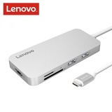 Lenovo Usb C Hub Type C Hub Adapter 3 1 With Usb C Charging Hdmi Port 2 Usb 3 1 Usb 2 Ports Sd Microsd Card Reader For Macbook Pro2016 2017 Chromebook And More Type C Devices Silver Intl Price Comparison