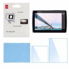 Lens and Screen Film Protector for Xiaomi Xiaoyi Yi 4K 4K+ Plus Action Camera