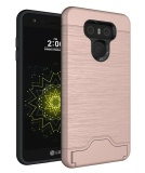 Lg G6 Case Card Slot Holder Shockproof Slim Fit Dual Layer Protection Card Slot Holder Hybrid Cover With Kickstand For Lg G6 Intl Discount Code