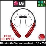 Discount Lg Tone Pro Bluetooth Stereo Headset Hbs 750 Red Wireless Bluetooth Quick Access Control