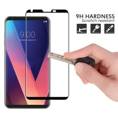 Sale For Lg V30 Screen Protector Case Friendly 1 Pack 3D Curved Tempered Glass Screen Protector For Lg V30 Full Coverage Bubble Free Scratch Resistant Ultra Clear Intl China Cheap