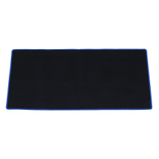 Lgpenny Black Rubber Large Long Computer Laptop Mouse Keyboard Desk Pad Mat 60*30cm - intl