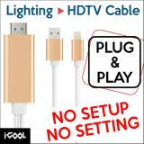 Sale Lightning 1080P Hdtv Adapter For Iphone And Ipad Hdmi On Singapore