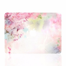 Lightning Power-Bundle Deal Air 13-Inch Vibrant Summer Graphics Rubberized Hard Case for MacBook Air 13 Model A1369/A1466 (Cherry Blossom) - intl