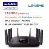 Sale Linksys Ea9500S Ea9500 V2 Quad Core Processor Wireles Ac5400 Tri Band Router With Eight Gigabit Lan Port On Singapore