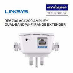 Linksys Re6700 Ac1200 Amplify Dual Band Wi Fi Range Extender With With A Gigabit Port Discount Code