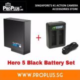 Sale Local Gopro Hero 6 Hero 5 Black Battery And Wasabi Power Dual Battery Charger Set Wasabi Power Original