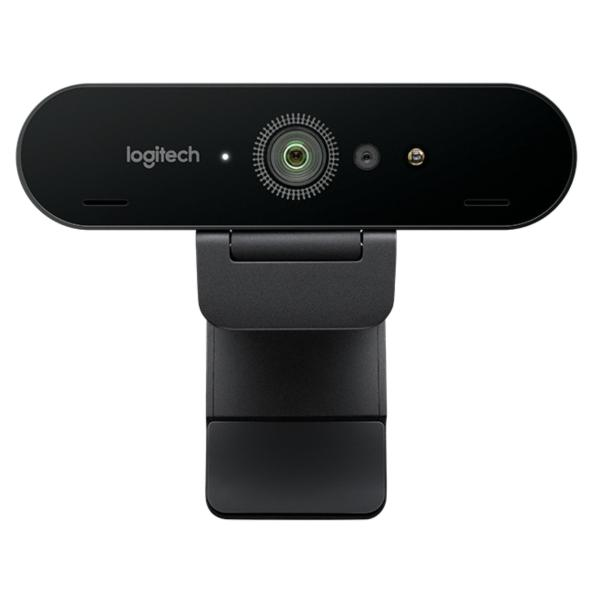 Logitech BRIO Webcam with 4K Ultra HD Video & RightLight 3 with HDR
