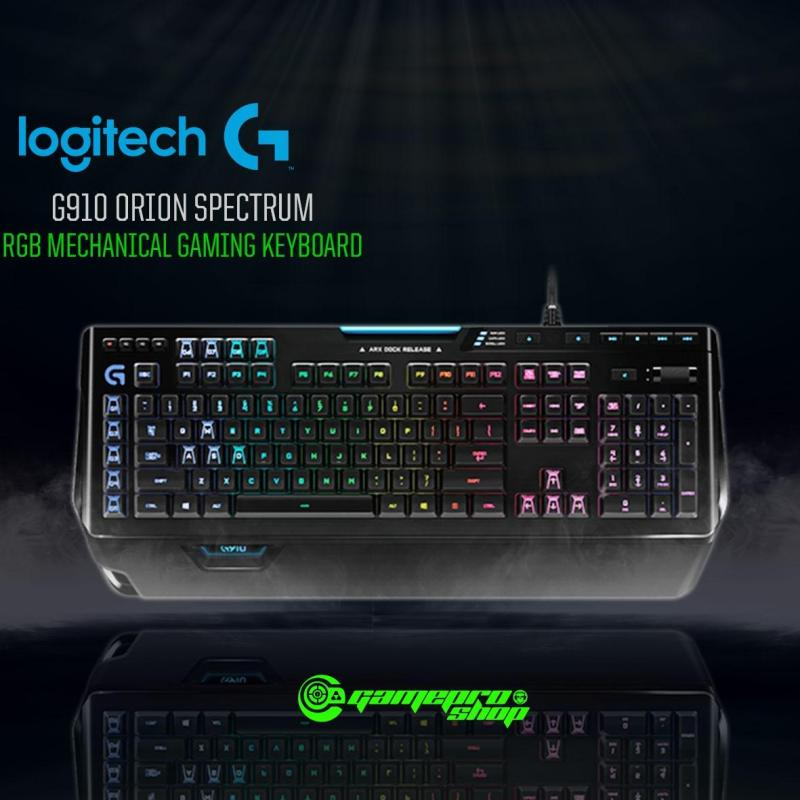 Logitech G910 Orion Spectrum RGB Mechanical Gaming Keyboard  *GSS PROMO* Singapore