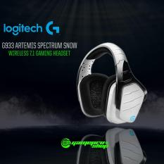 Logitech G933 Artemis Spectrum Snow Wireless 7 1 Surround Sound Gaming Headset Gss Promo For Sale Online