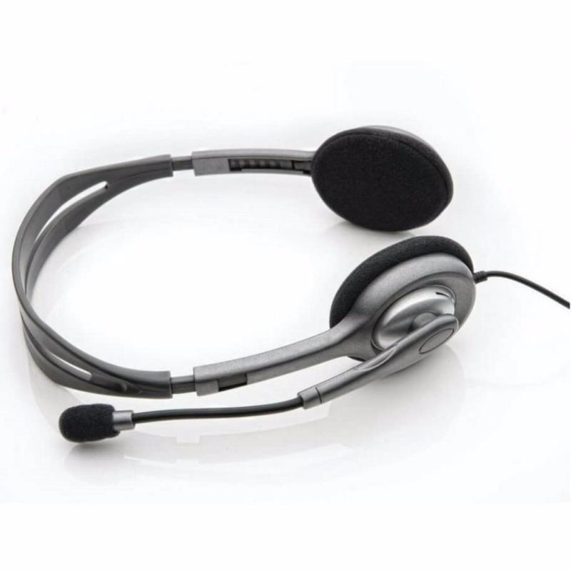 Logitech H111 Basic Stereo Headset with Single 3.5 mm Jack Only Singapore