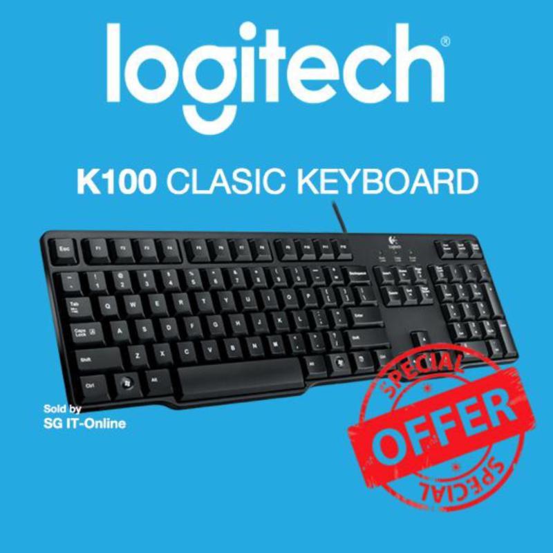 Logitech K100 Classic Keyboard Singapore