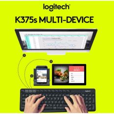 Logitech K375s Multi-Device Wireless Keyboard and Stand Combo K375