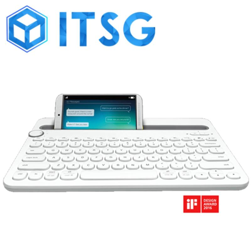 LOGITECH K480 MULTI-DEVICE BLUETOOTH KB WHITE (1Y)  / Mouse / Desktop / PC / Computer Accessories / Gaming / Game Singapore