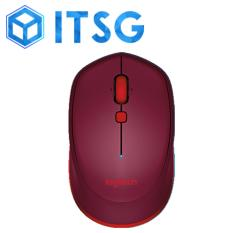 LOGITECH M337 BLUETOOTH MOUSE (RED) (1Y) / Mouse / Gaming / Game / Desktop Accessories / Computer Accessories / Laptop Use / PC Use