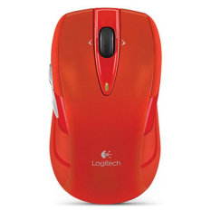 Logitech M545 Red Wireless Mouse Price