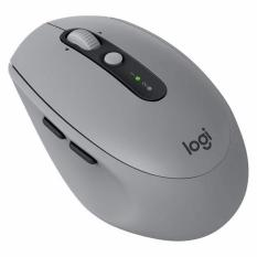 Logitech M590 Silent Mid Grey Tonal Multi Device Wireless Mouse On Singapore