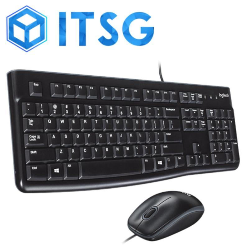 LOGITECH MK120 USB DESKTOP COMBO (Wired simplicity)  / Mouse & Keyboard / Desktop / PC / Computer Accessories / Gaming / Game Singapore