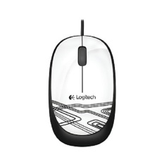 Logitech Mouse M105 Usb White Lowest Price