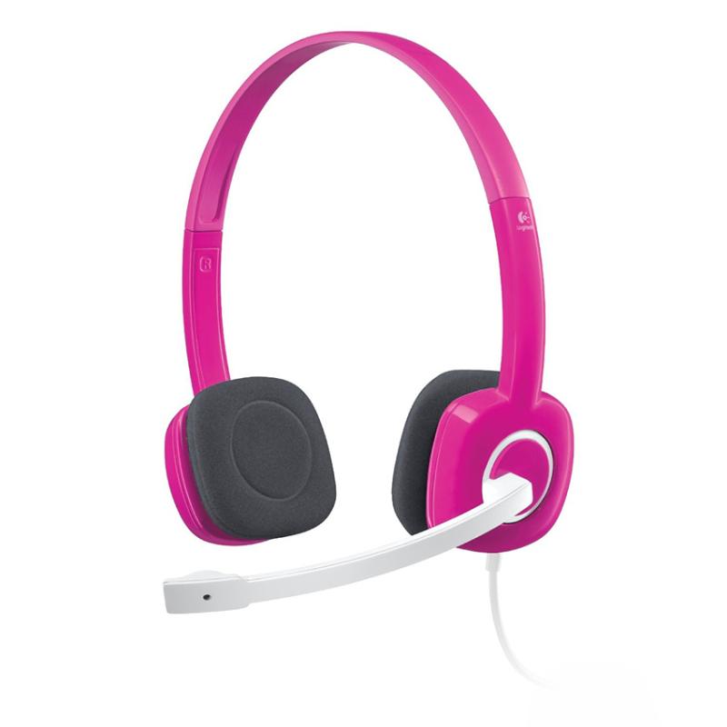 Logitech Stereo Headset H150 Fuchsia Pink Singapore