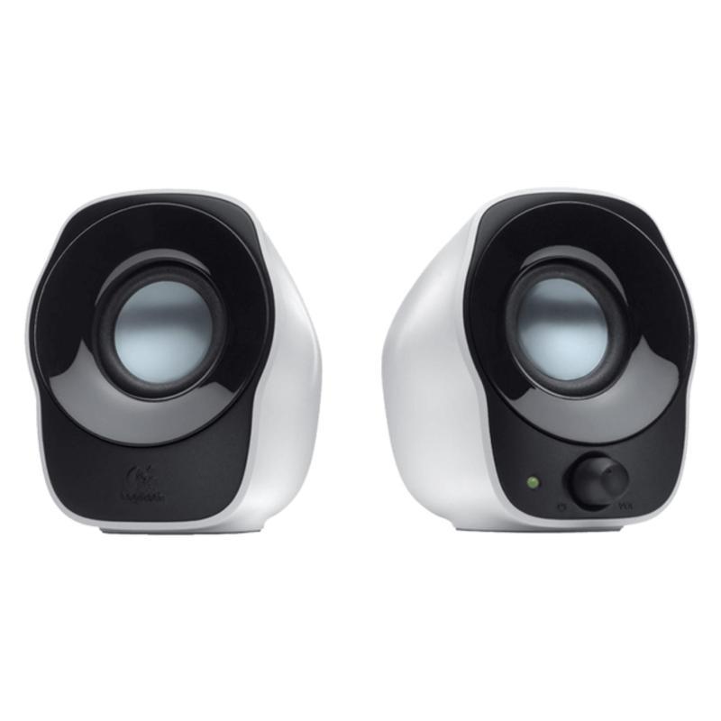 Logitech USB Powered Stereo Speakers Z120 (Black&White) Singapore