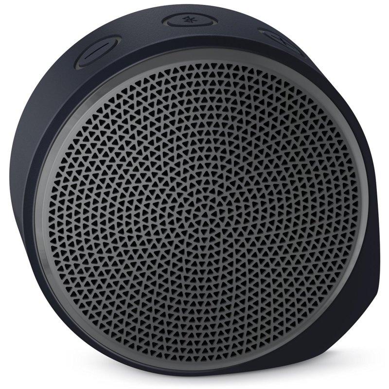 Logitech X100 mobile Wireless Speaker Black Housing with (Grey Grill) Singapore